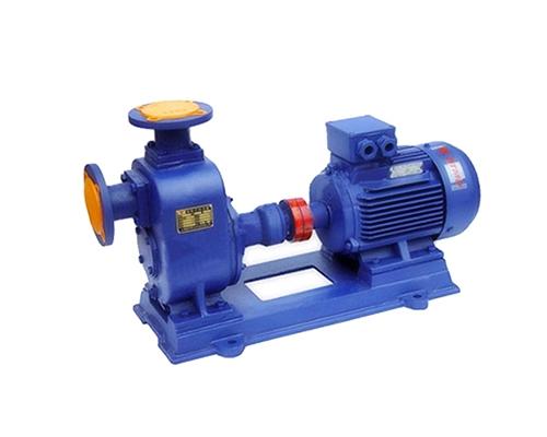 ZW型系列无堵塞自吸式排污泵
